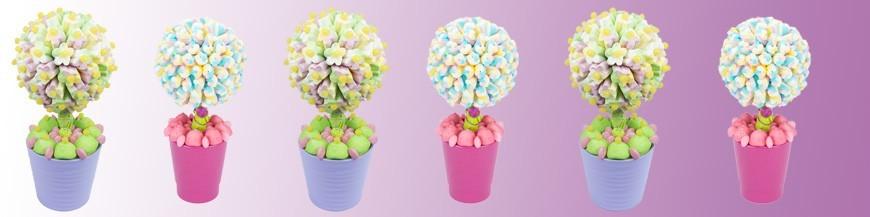 Arbres en bonbons