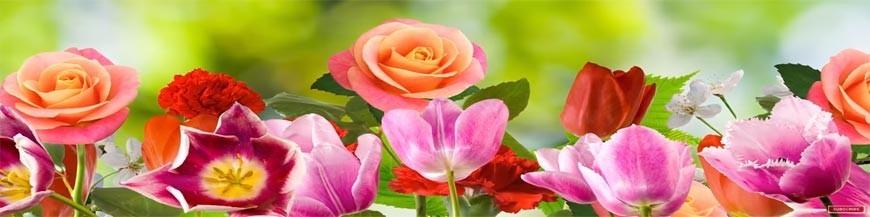 fleurs et bouquets en bonbons
