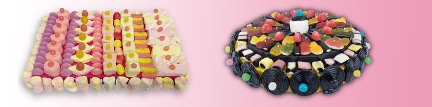 Gâteaux 100% bonbons