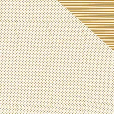 Papier rayure et pois or