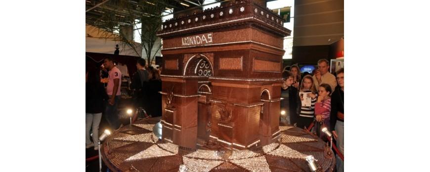 Les œuvres en chocolat Leonidas
